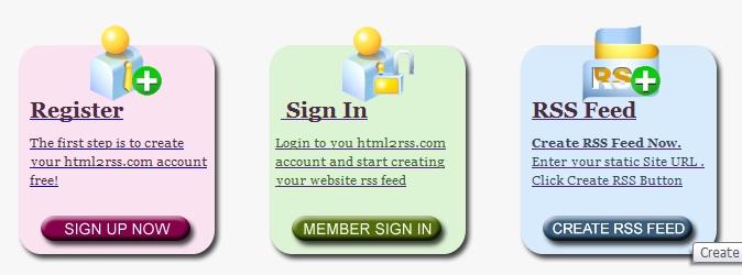 יצירת ערוץ RSS לאתרי HTML סטטיים